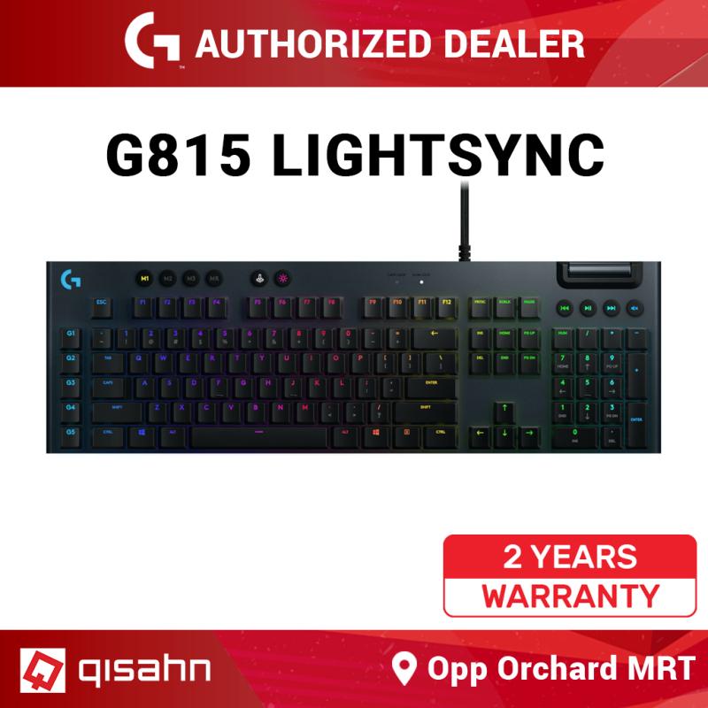 Logitech G815 RGB Mechanical Gaming Keyboard Singapore