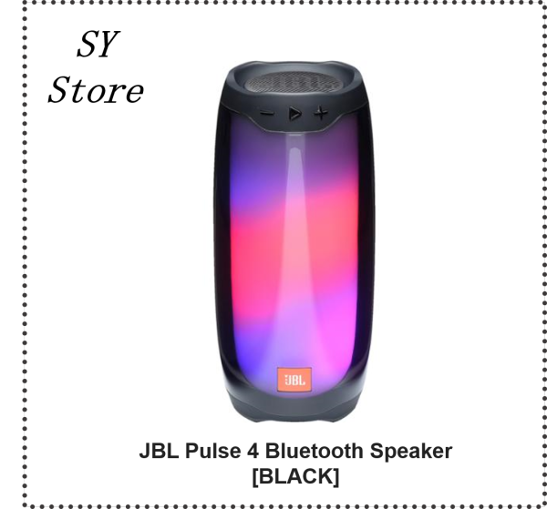 JBL Pulse 4 Portable Bluetooth Speaker - SY Store Singapore