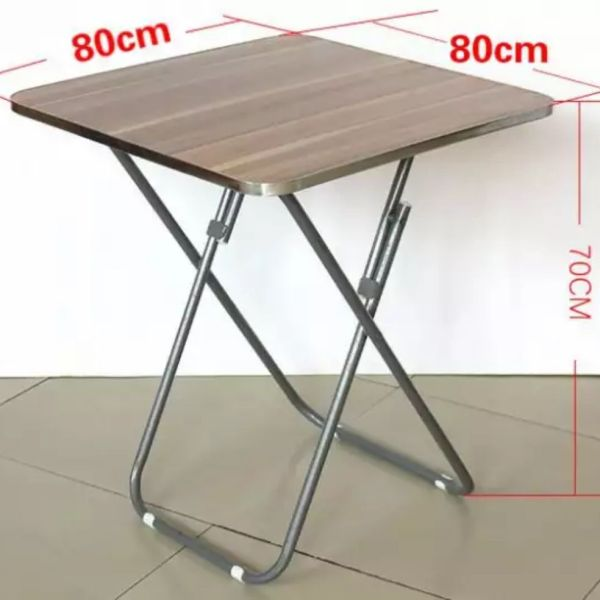 Family folding table simple small table table square table desk writing table barbecue table