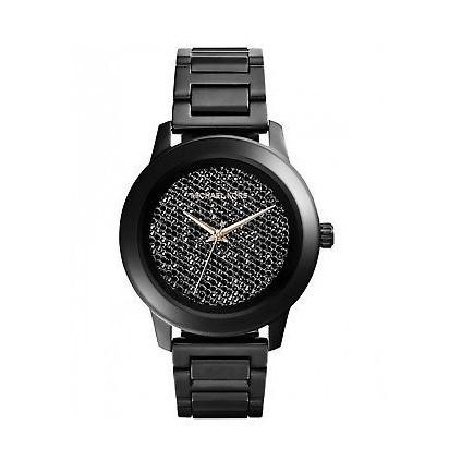 Original Michael Kors MK5999 Kinley Pave Black Tone Stainless Steel Ladies Watch Malaysia