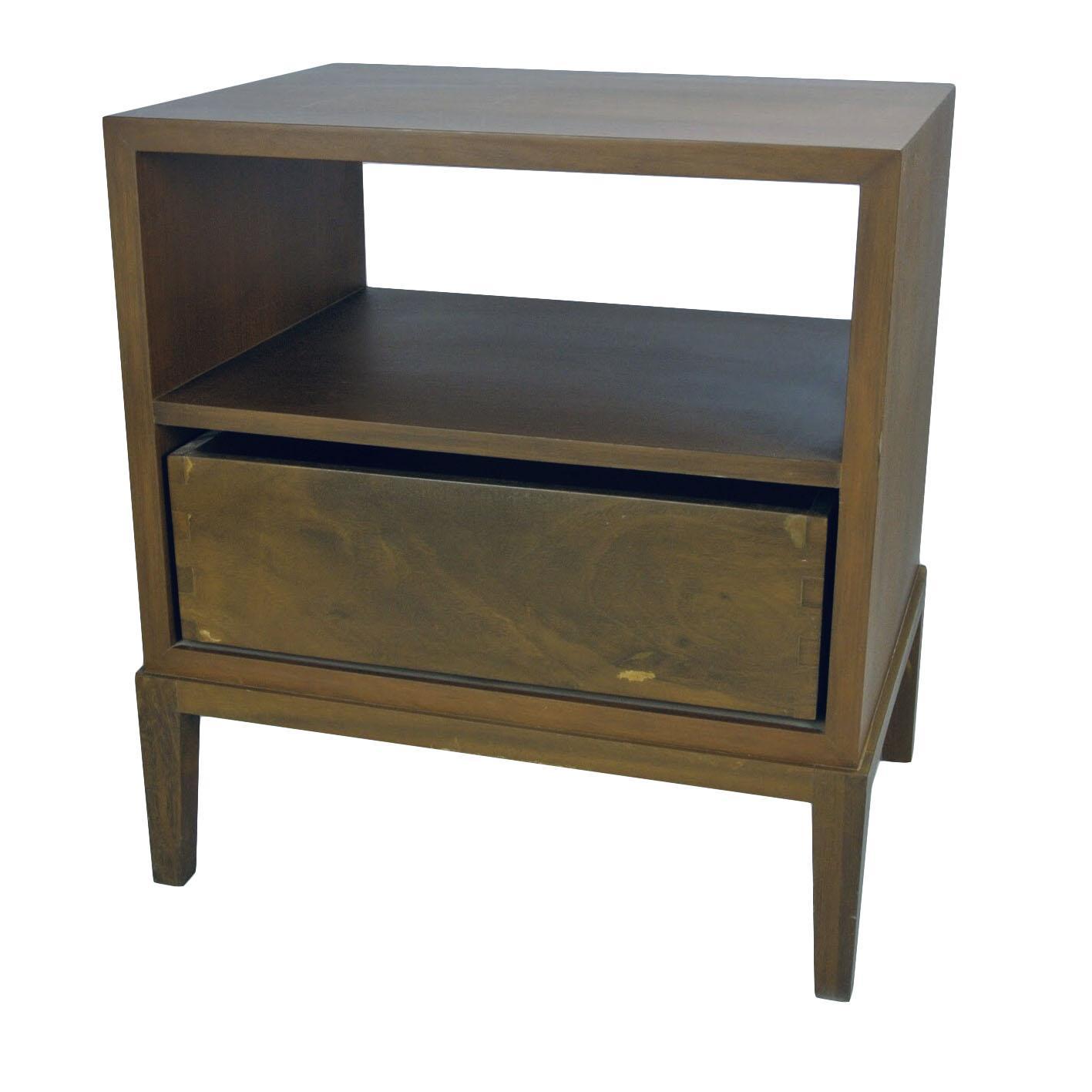 Bedside Table (Walnut Veneer)