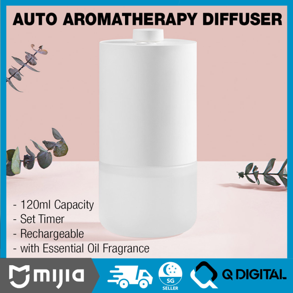 Xiaomi Mijia Automatic Aroma Diffuser Aromatherapy Air Purifier Air Refresher Fragrance Diffuer Singapore