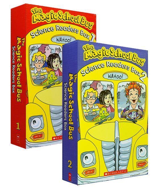 [20 Books] - THE MAGIC SCHOOL BUS - SCIENCE READERS BOX 1 & BOX 2