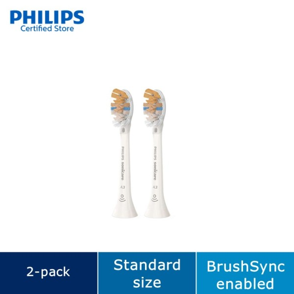 Buy Philips A3 Premium All-in-One Standard sonic toothbrush heads HX9092/67 Singapore