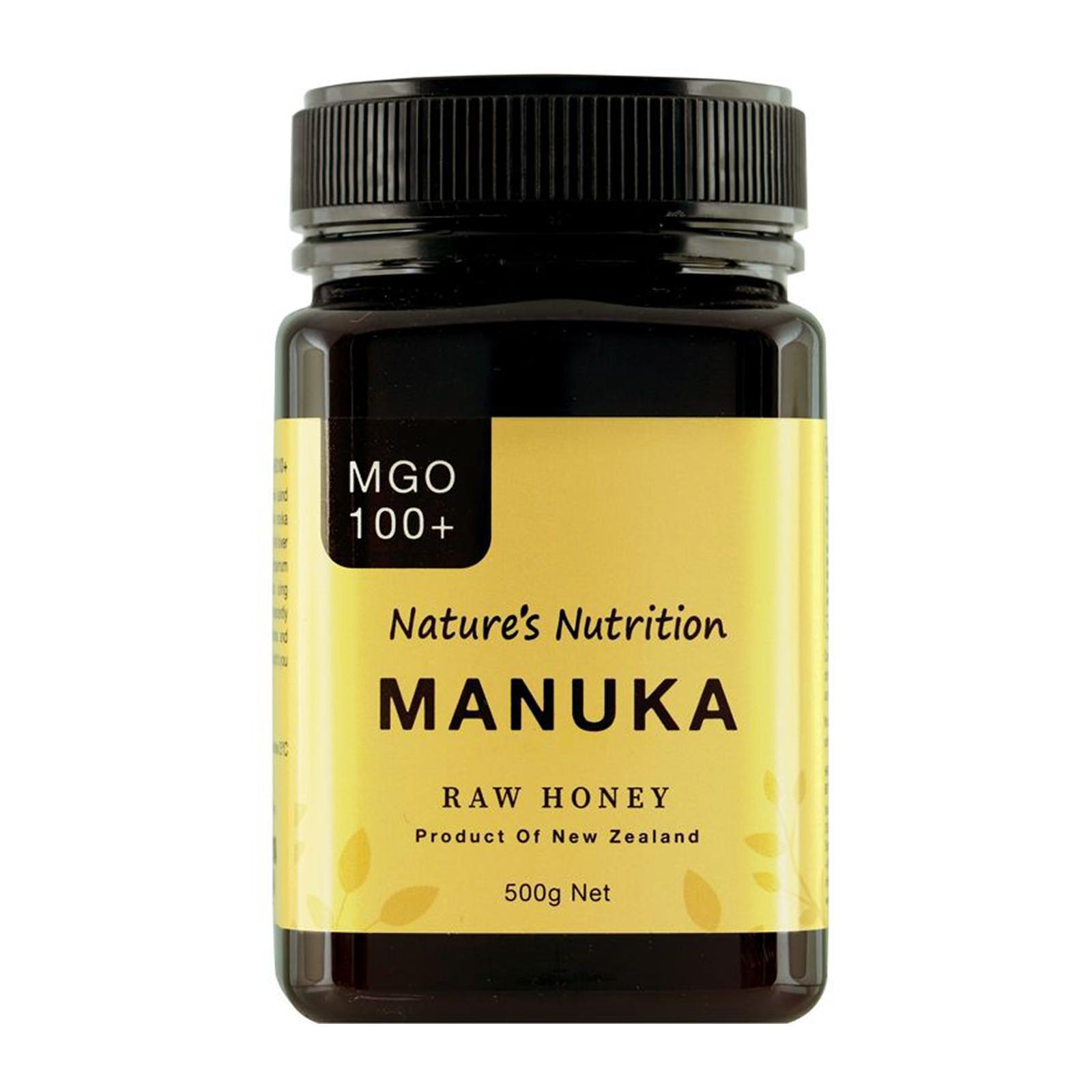 Nature's Nutrition Mgo 100+ Manuka Honey
