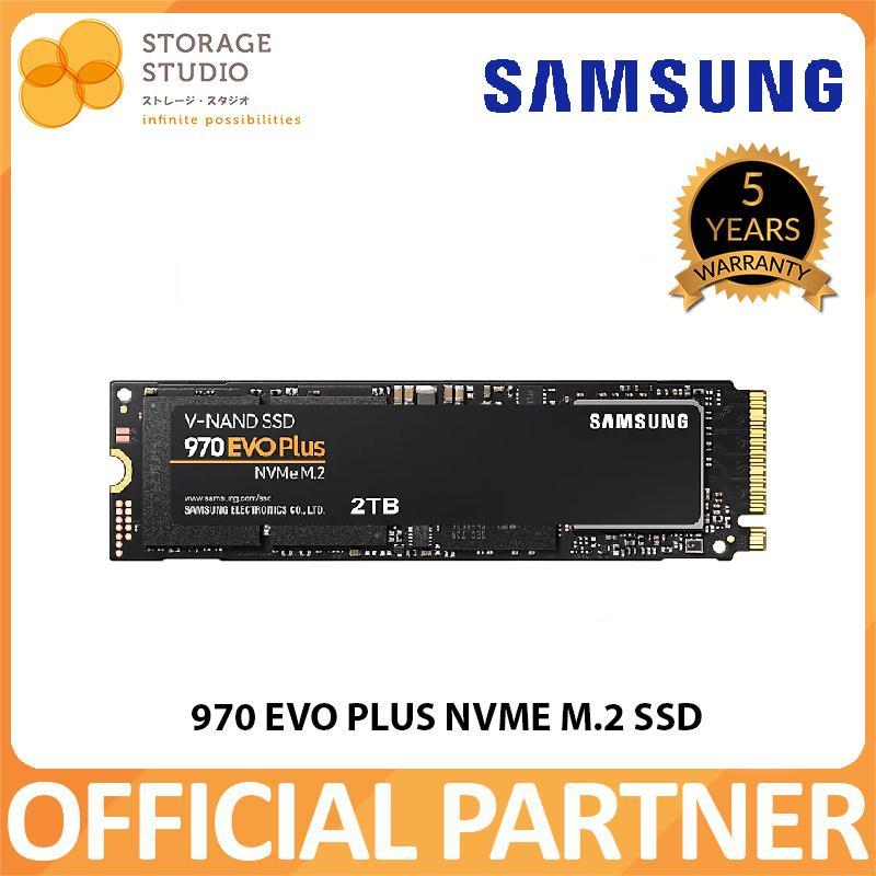 Samsung 970 EVO Plus NVMe M 2 SSD 2TB / 1TB / 500GB / 250GB   Warranty: 5  years local warranty  ** SAMSUNG Official Partner **