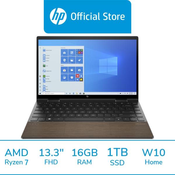HP ENVY x360 Convertible Laptop 13-ay0084AU / AMD Ryzen 7 4700U / 16GB RAM / 1TB SSD / 13.3 FHD / 2 Years Warranty / 1 Year ADP / Touchscreen / Light & Portable / Thin / Free 1 Mth McAfee LiveSafe Trial