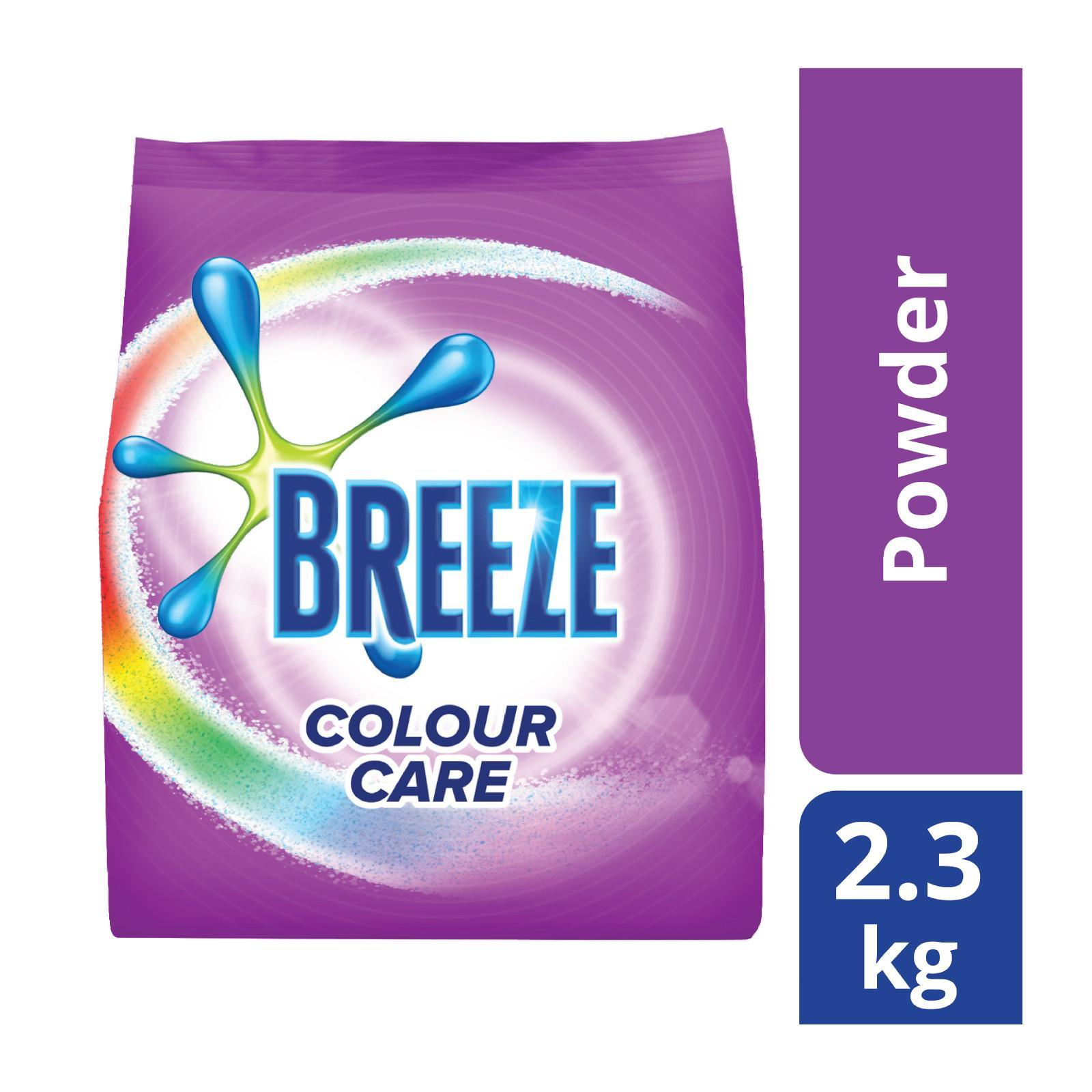 BREEZE Laundry Powder Detergent Colour Care 2.3kg
