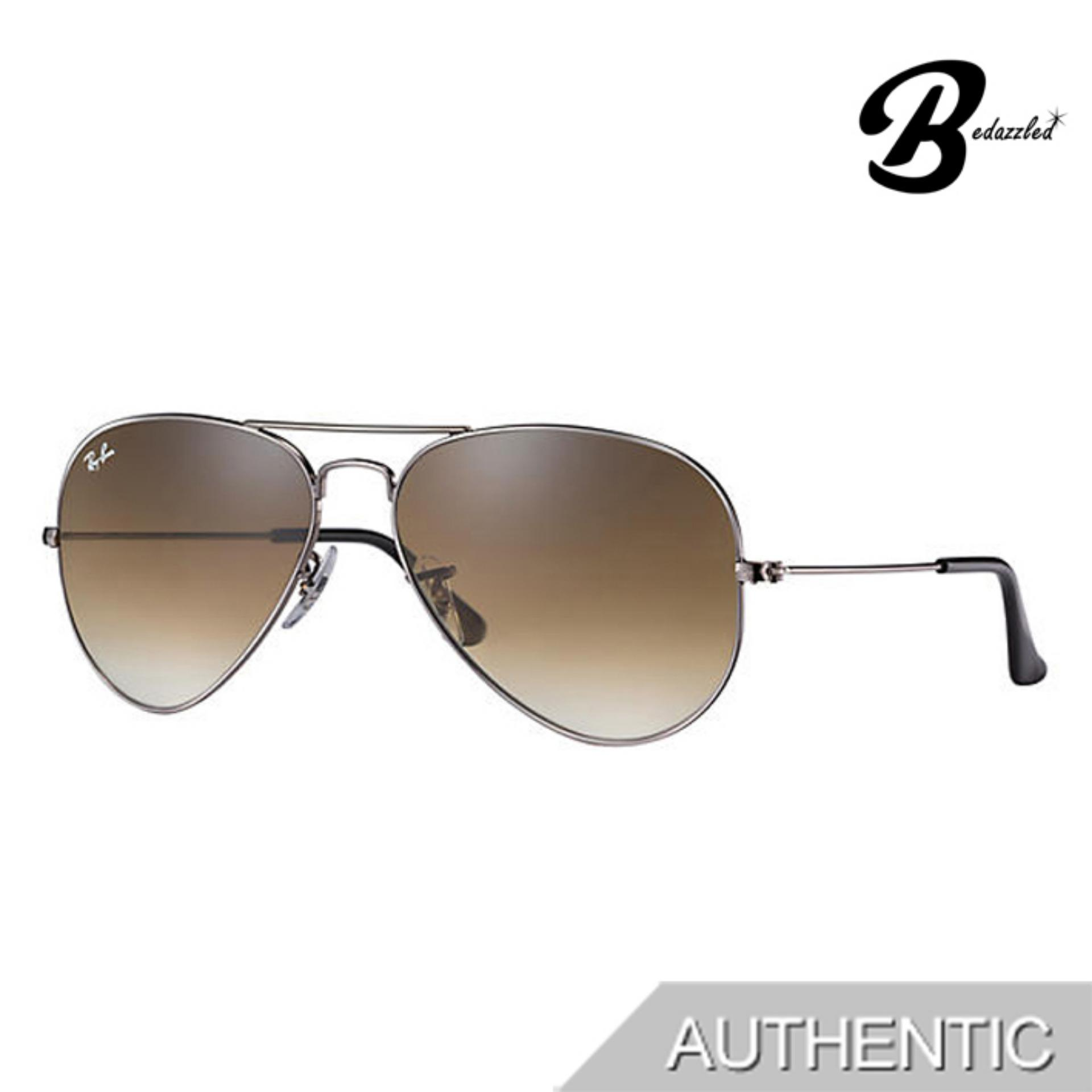 Ray-Ban Aviator Gradient Rb3025004/5158 By Bedazzled.