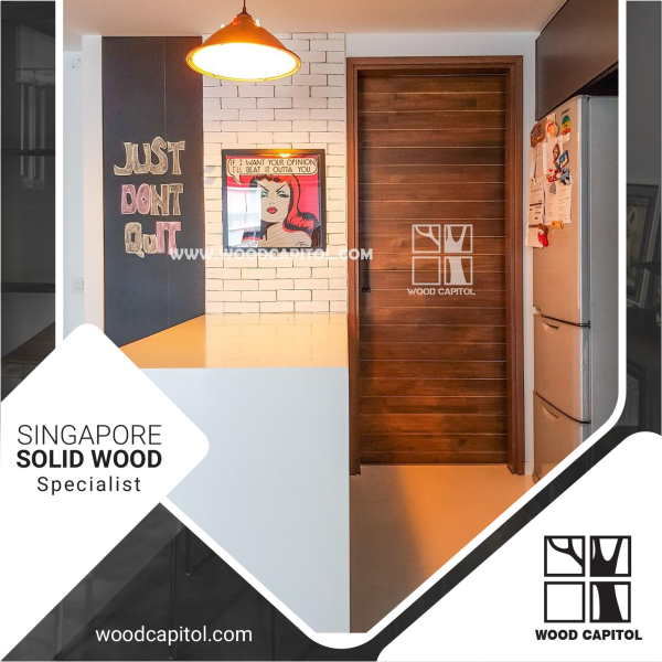 Wood Capitol Solid Wood Door