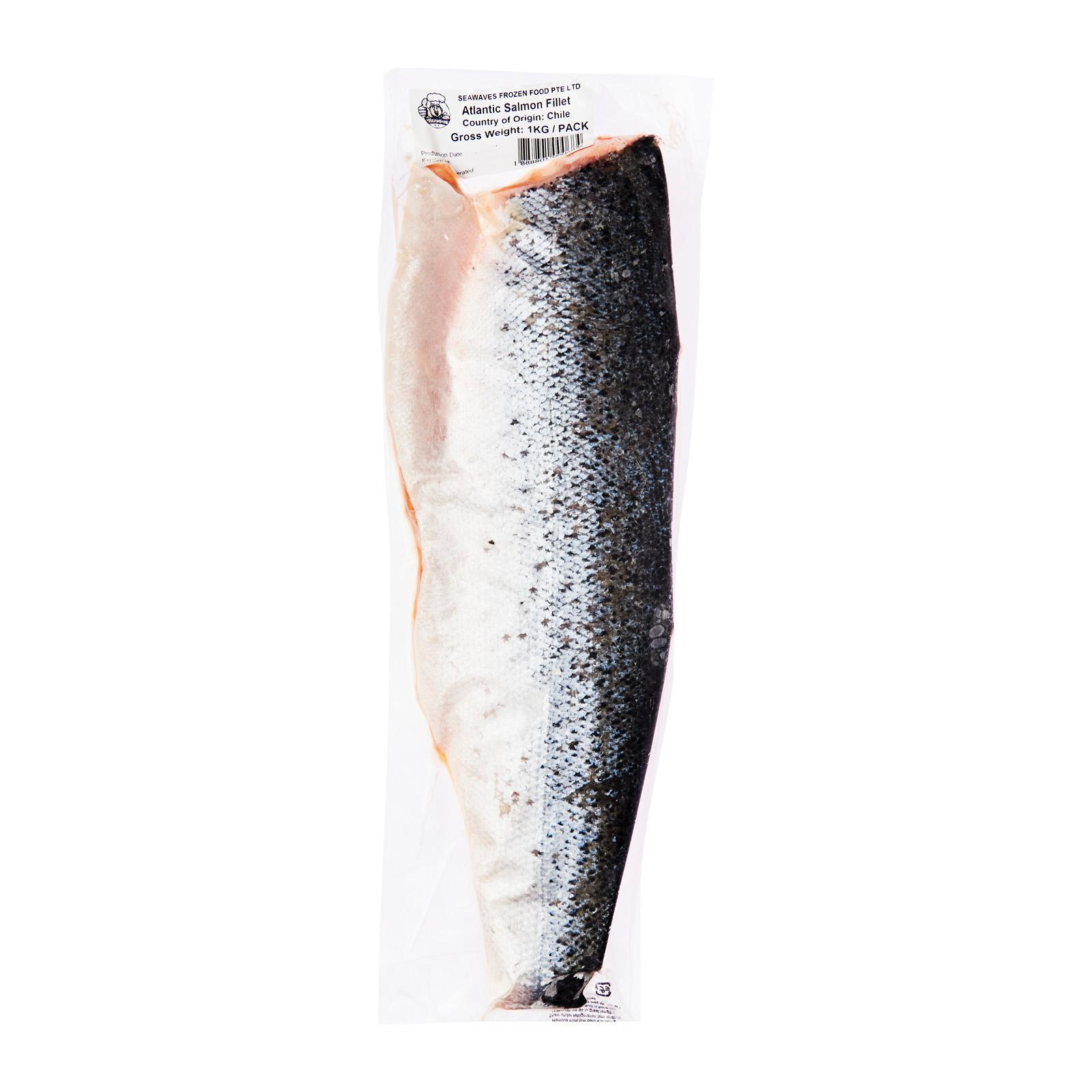 Seawaves Atlantic Salmon Fillet - Frozen