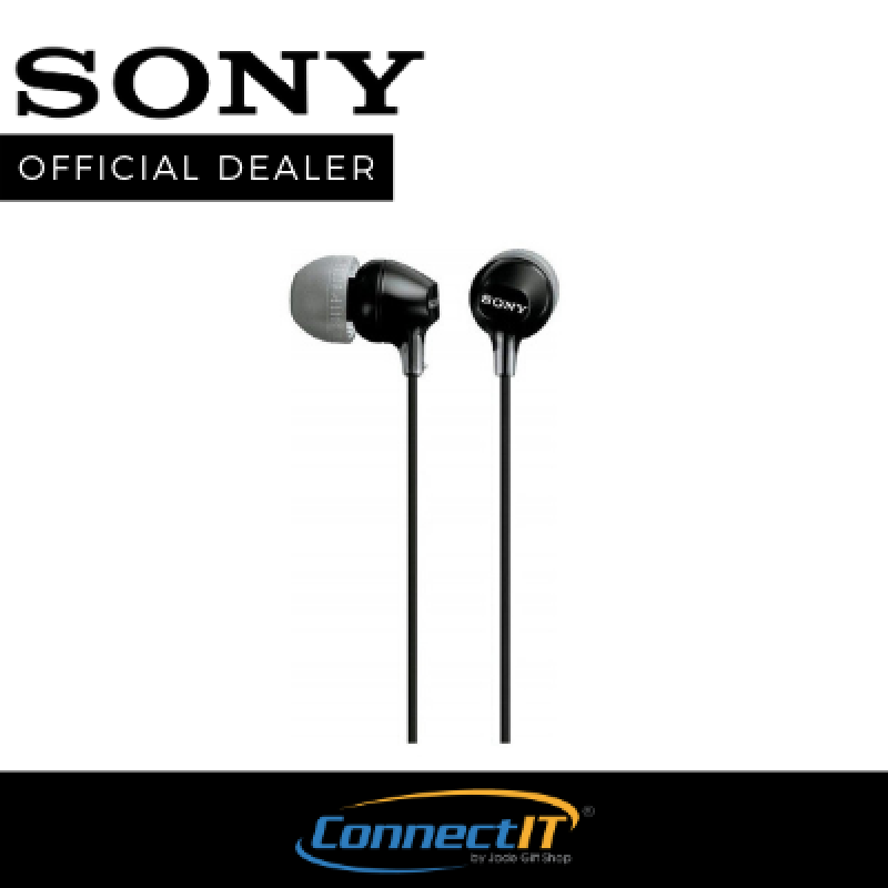 Sony MDR-EX15LP In-Ear Earphones With Comfortable And Secure-fitting Silicone Earbuds ( 1 Year Local Warranty ) Singapore