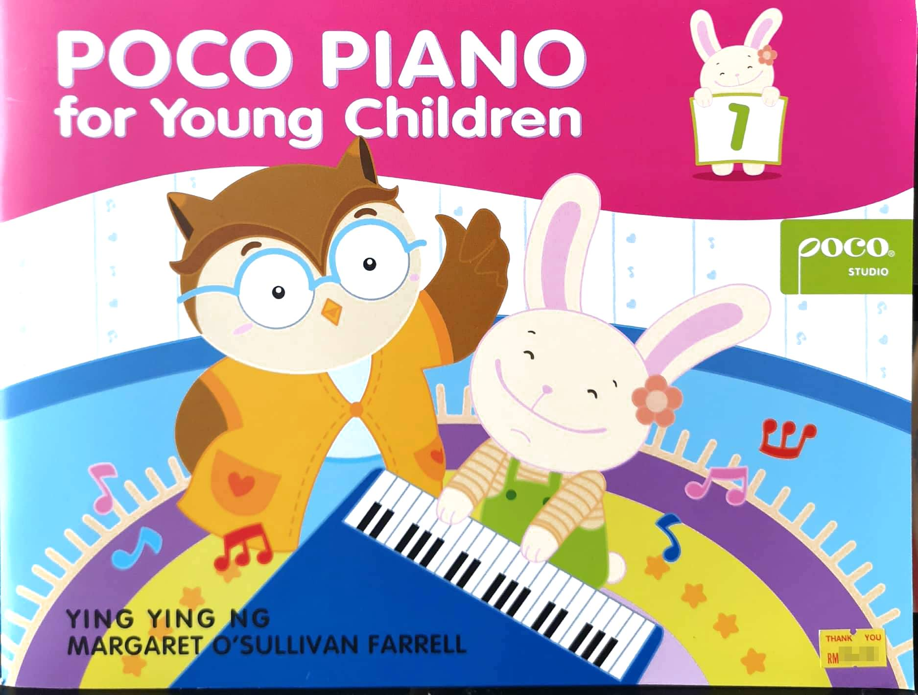 Ying Ying Ng Poco Piano For Young Children Book 1