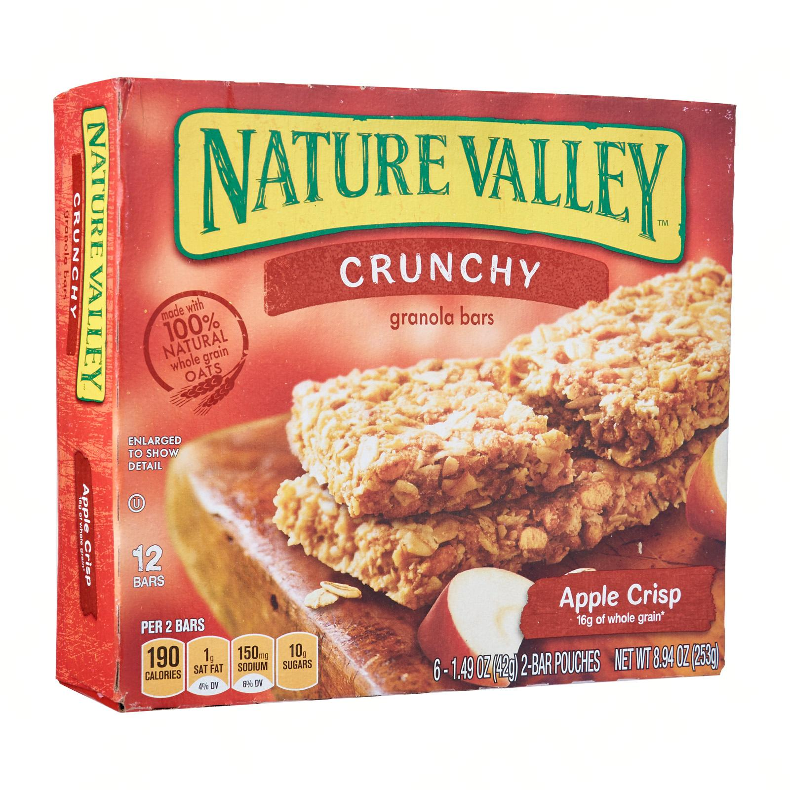 NATURE VALLEY Granola Bar - Apple Crisp 6s x 42g