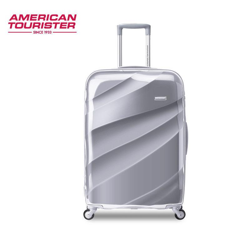 Samsonite American Tourister B15 Series Super Lightweight Luggage Cabinsize 20 25 Inch Silver TSA Lock [Delivery Within 3 Days]