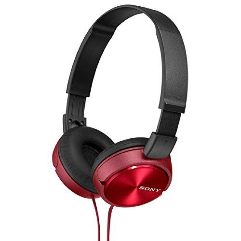 Sony Foldable Headphones MDR-ZX310 R - Metallic Red Singapore