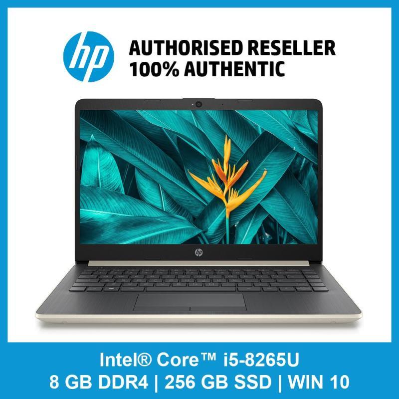 HP Notebook - 14s-cf1021tx OR cf1023tx / i5-8265U / 8 GB RAM / 256 GB SSD / WIN 10