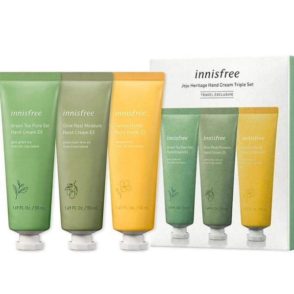 Buy innisfree  JEJU HERITAGE HAND CREAM 50ml 3ea PIECES SET Singapore