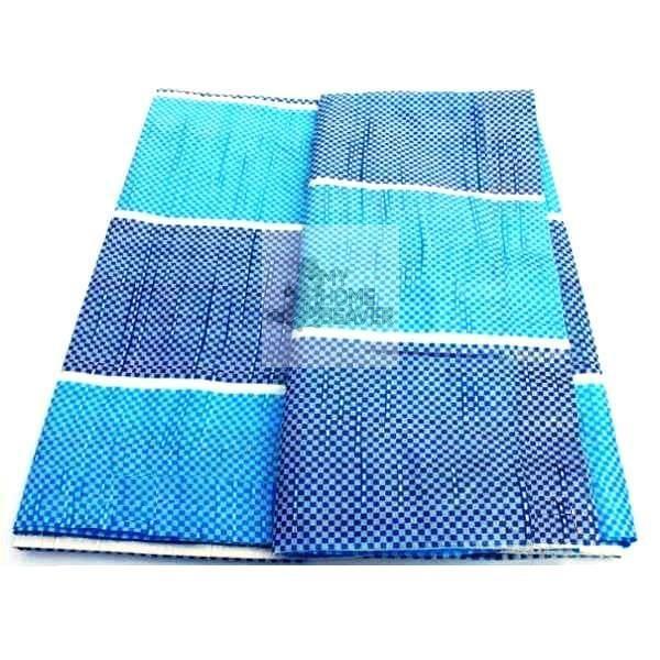 Waterproof Ground Sheet Blue PE Tarpaulin Canvas Groundsheet Cover Camping Picnic Construction
