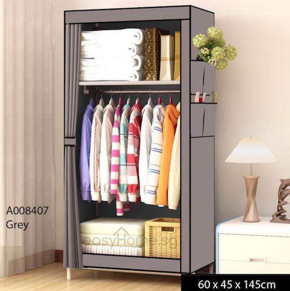 Wardrobe A00 - Clothes Rack/ Closet / Hanger Shelves Storage