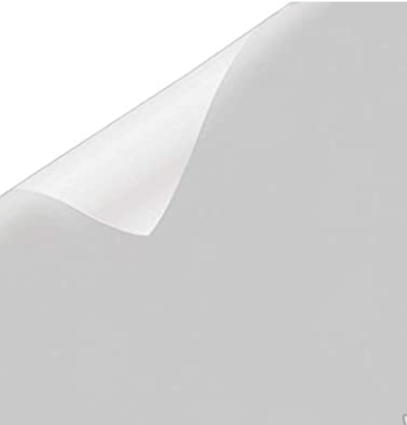 SG SELLER! 76x200 cm MATTE WHITE FROSTED UV 99% Decorative Privacy Window Film READY STOCK! FAST DELIVERY!!