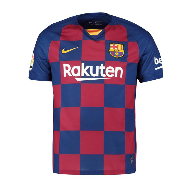 save off 77678 bd2b0 Nike Barcelona 19-20 Home Football Uniform Barcelona Football Club Meixi  Short Sleeve Jersey Genuine Product AJ5532-456