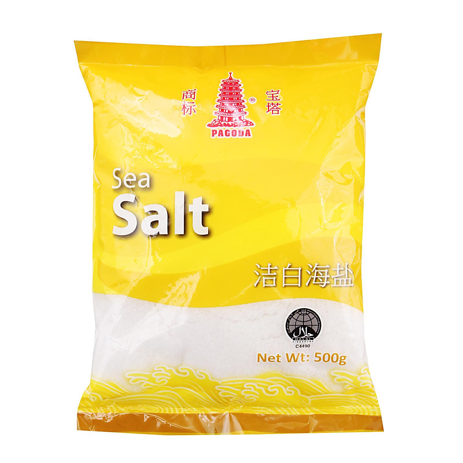 Pagoda Sea Salt 500G