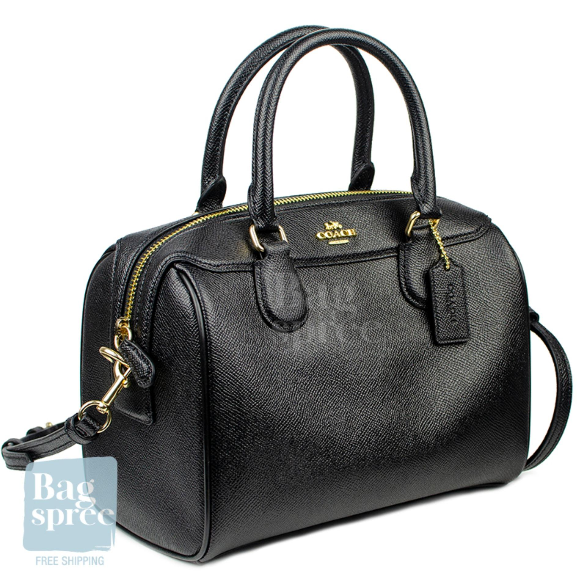 c31bf1a1 *Authentic & Brand New* Coach Mini Bennett Satchel Leather Bag F32202 [Gift  Receipt Provided] [OL]