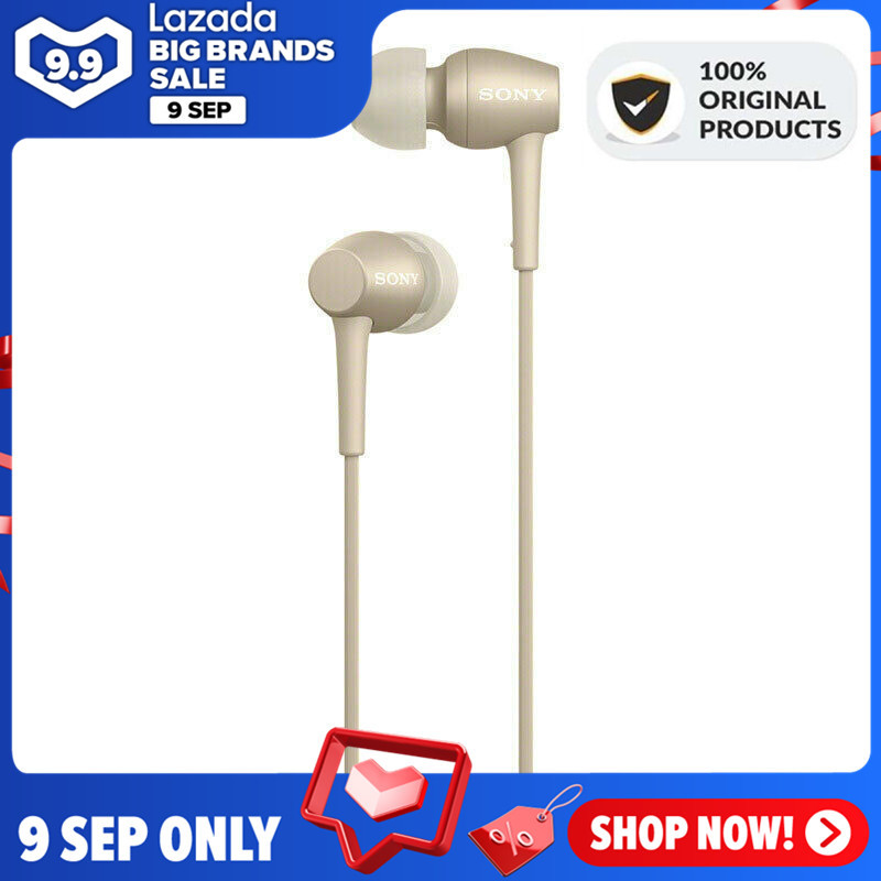 [Free Shipping] SONY Original IER-H500A H.ear in 2 Hi-Res Earphone 3.5mm Wired Jack Audio In-Ear Headphones Stereo Music Gaming Earphone Headset Hands-free with Mic For ios iPhone and Android Huawei/Xiaomi/oppo/vivo/Samsung Singapore