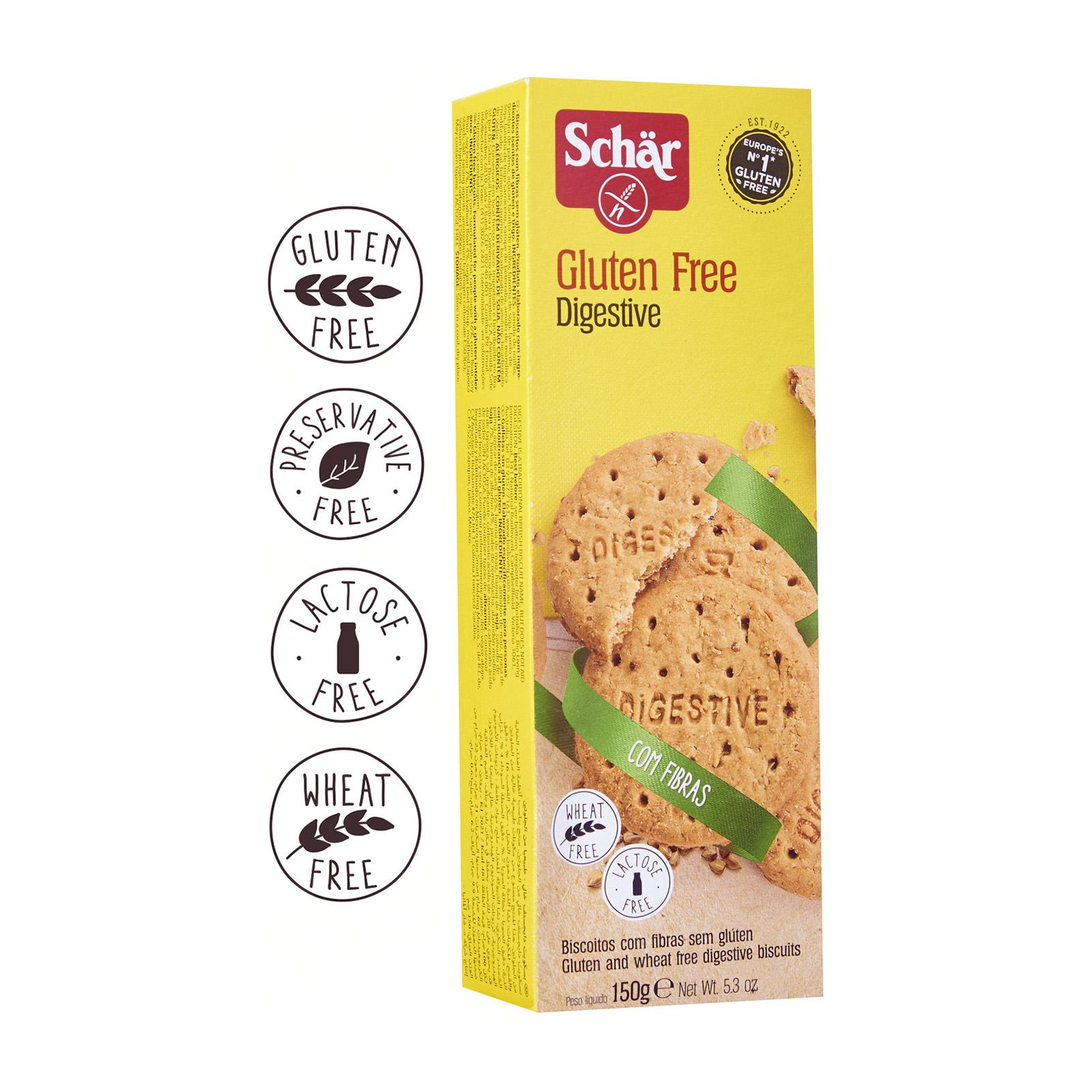 Dr. Schar Digestive Cookies - Gluten Free by Agora Products