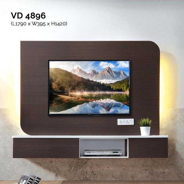 VD4896 6FT Feature Wall TV Cabinet Warehouse56