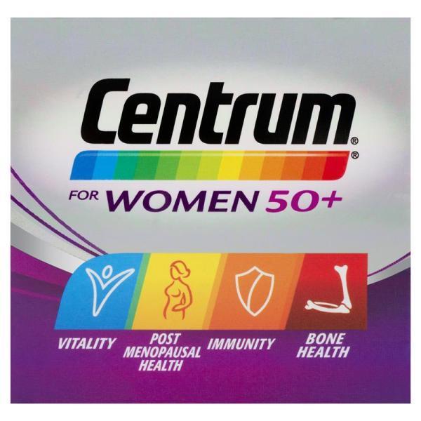Buy Centrum For Women 50+ Multivitamin 90 Tablets September 2022 Singapore