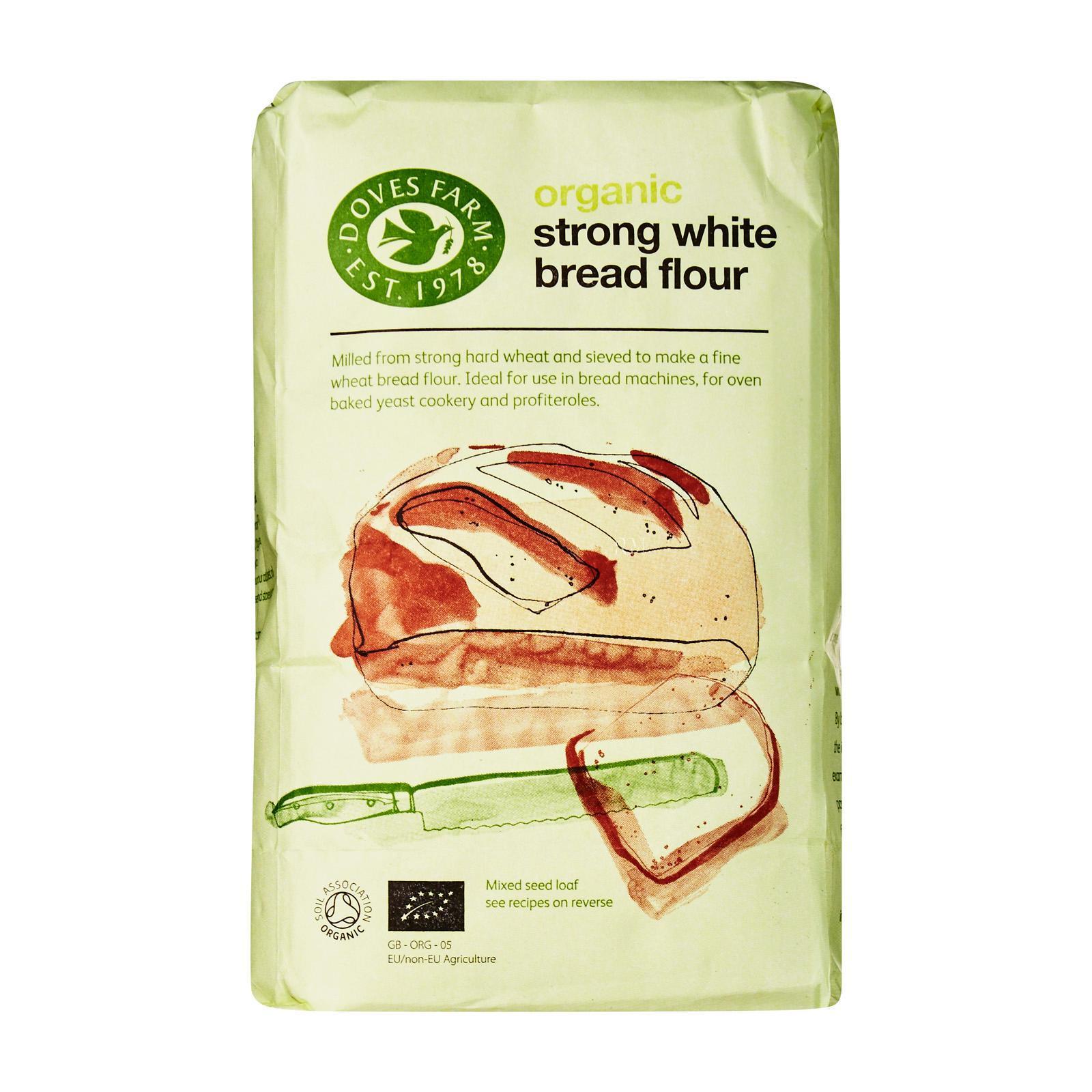 Doves Farm Organic Strong White Bread Flour