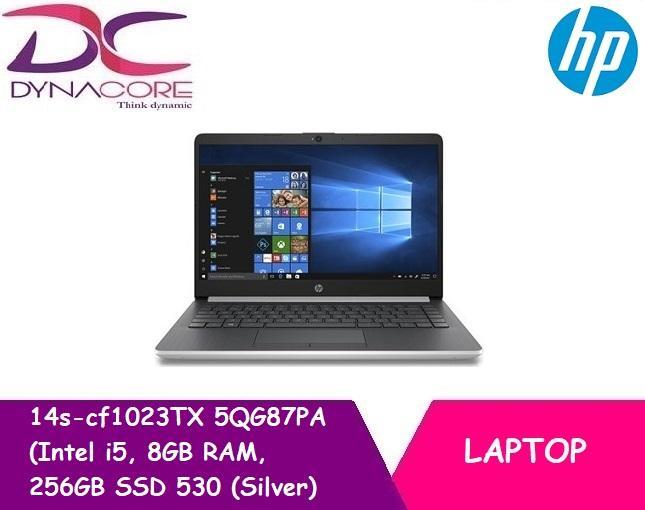 HP 14s-cf1023TX 5QG87PA (Intel i5, 8GB RAM, 256GB SSD 530 (Silver)