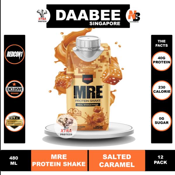 Buy Redcon1 MRE Protein Shake (480ml) Salted Caramel 12 Pack Singapore