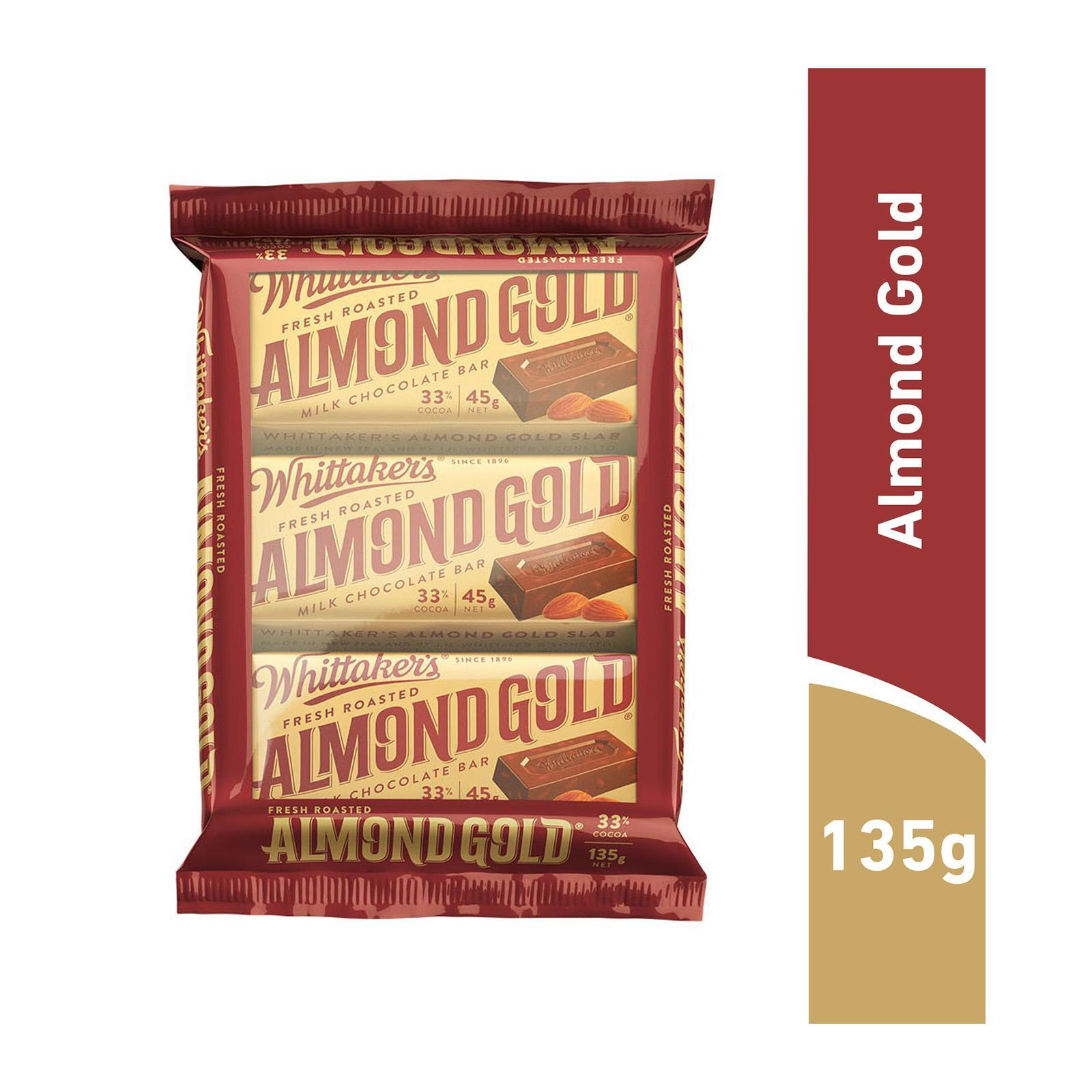 Whittaker's Almond Gold Multipack Chocolate