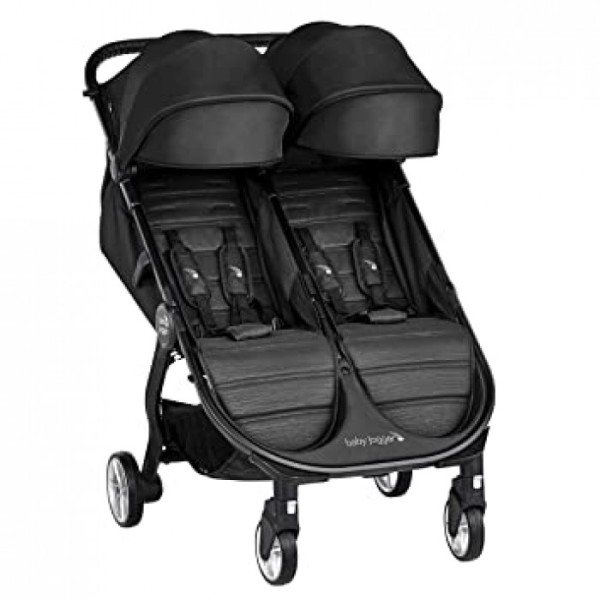 Baby Jogger City Tour 2 Double - Jet (1 Year Local Warranty) Singapore