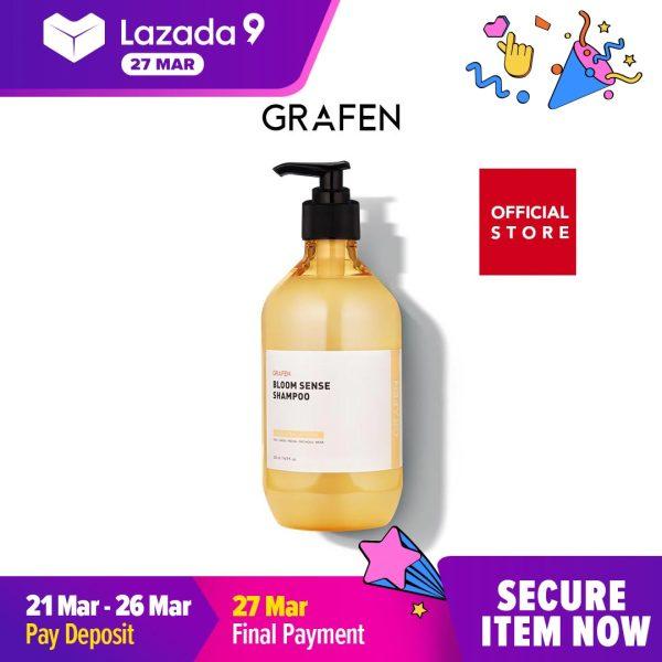 Buy [GRAFEN] Bloom Sense Perfume Shampoo 500ml ( Anti-Hair Loss ) Singapore