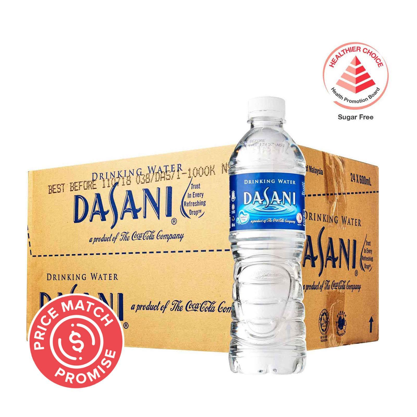 Dasani Drinking Water - Case