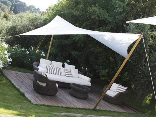 4x6m Rectangle Waterproof Sun Shade Sail Awning Canopy 90% UV Blocking Outdoor Garden Sun Shelter UV Protection Oxford Fabric