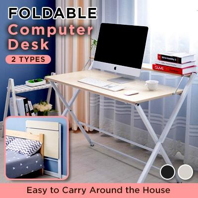 Foldable Computer Desk / Study Table / 2019 improved design / High Quality
