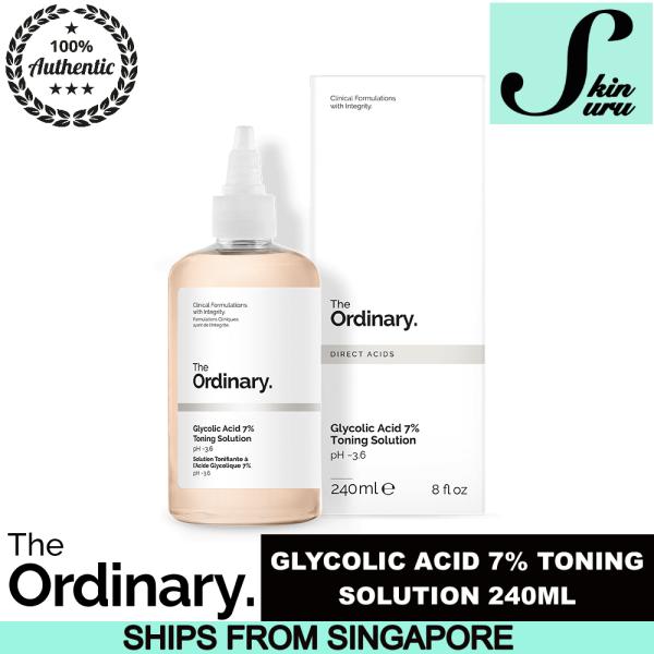 Buy The Ordinary Glycolic Acid 7% Toning Solution (240ML) Singapore