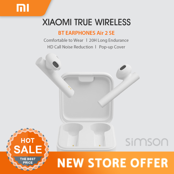 NEW Xiaomi Air2 SE Wireless Bluetooth Earphone TWS Mi True Earbuds AirDots pro 2SE 2 SE SBC/AAC Synchronous Link Touch Control Singapore
