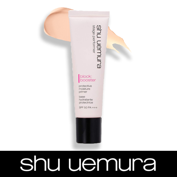 Buy SALE Shu uemura Stage performer block:booster protective moisture primer SPF50 PA +++ 7ml #natural beige Singapore