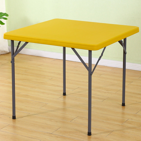 Foldable Table HDPE 86*86 cm Square Portable Heavy Duty Strong Stable Outdoor Event Waterproof
