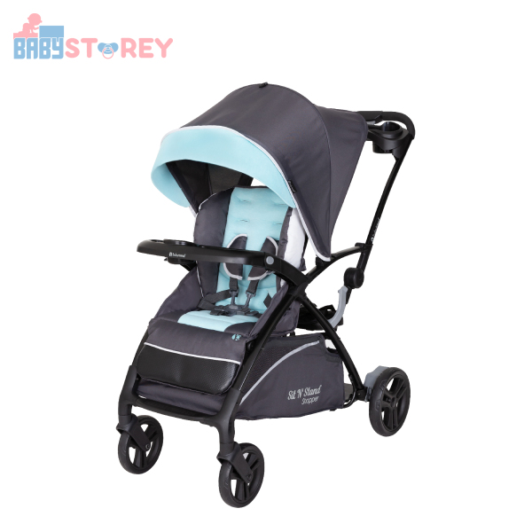 [Baby Storey] Baby Trend Sit N Stand® 5-in-1 Shopper - Blue Mist Singapore