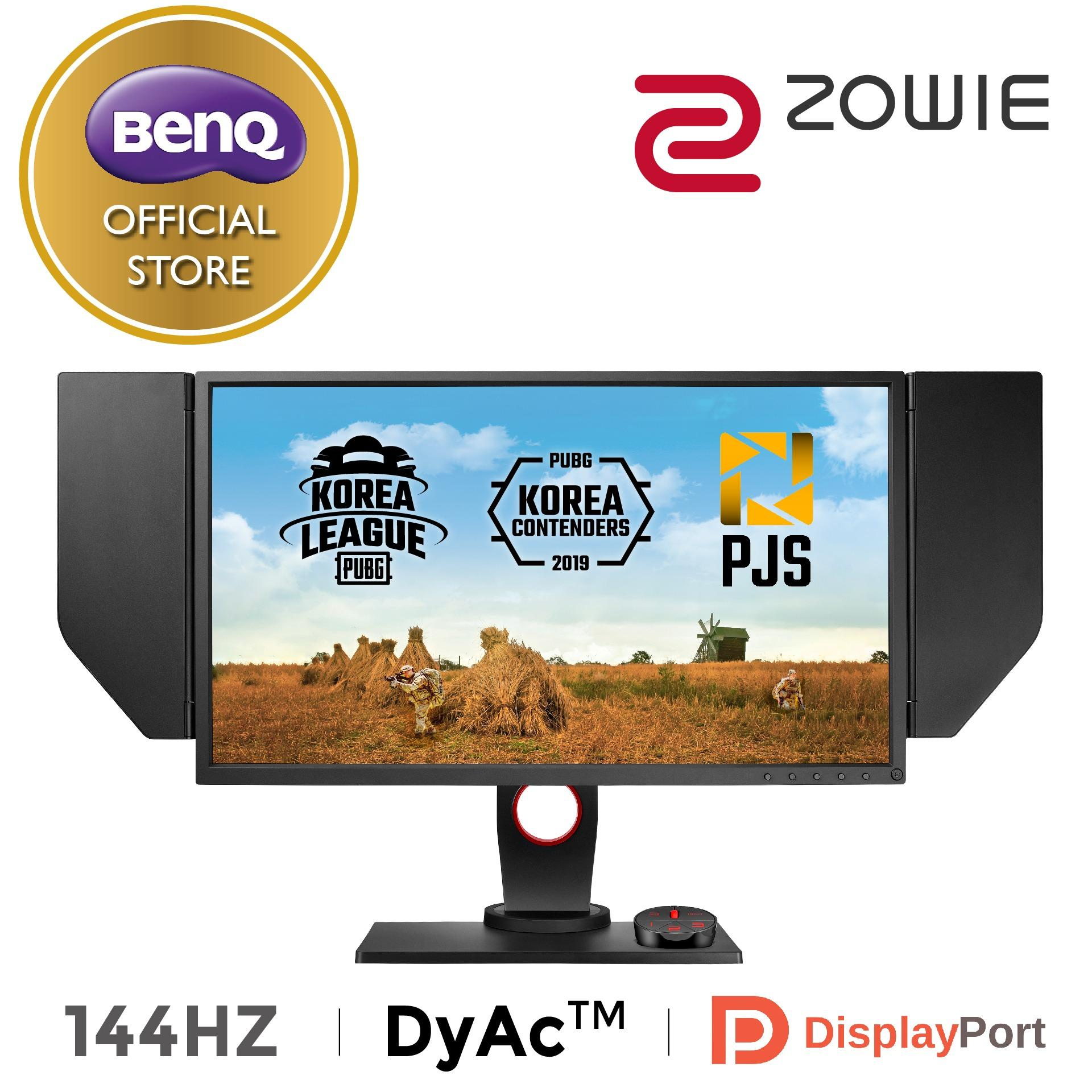 "BenQ ZOWIE XL2536 24.5 inch 24.5"" 144Hz 1ms Exclusive DyAc Technology Esports gaming Monitor ("