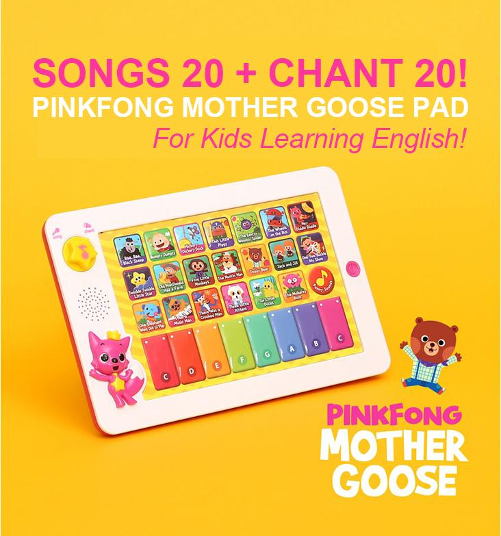 PINKFONG Mother Goose Pad For Kids Learning English