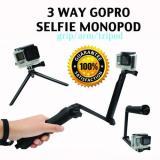 Latest 3 Way Gopro Selfie Stick
