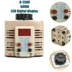 0-250v 2a 500w Ac Variable Digital Voltage Regulator Transformer Power Supply - Intl By Freebang.